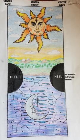 Camilas winning sock design